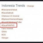 Saya Pilih PKS Menjadi Trending Topic