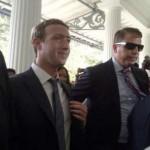 Mark Zuckerberg Disambut Oleh Jokowi