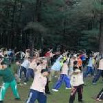 Pelatihan Senam Nusantara di Jatiluhur