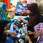 Tarhib di Jatirasa, Lomba dan Cek kesehatan gratis