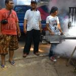 DPRa Jatirasa lakukan Fogging Menyambut Ramadhan