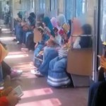 Gerbong KRL pun Berubah Menjadi Pesantren
