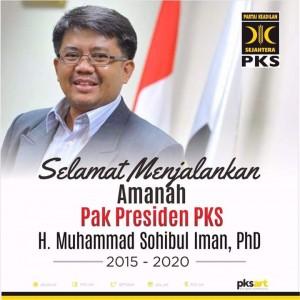 Profil Lengkap Muhammad Sohibul Iman