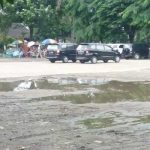 Lapangan Jatiasih Bekasi Becek dan Kumuh