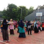 Dukung Ibu Sehat, Puspa Permaswari Rutinkan Senam di Kelurahan Jatiluhur
