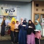 PKS Jatisari Berbagi Sarapan dan Bazar Telur Murah