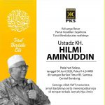 Innalillahi, Ustadz Hilmi Aminuddin Wafat