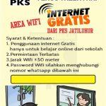 PKS Jatiluhur Berbagi Internet Gratis untuk Warga