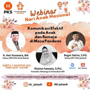 RKI Jatiasih Gelar Webinar Peringati Hari Anak Nasional